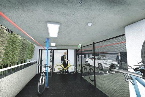 Render - Bike Storage